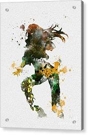 Rogue Acrylic Print by Rebecca Jenkins