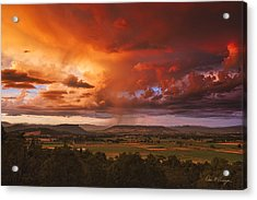Rogue Valley Sunset Acrylic Print