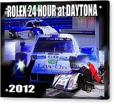 Rolex Daytona Acrylic Print