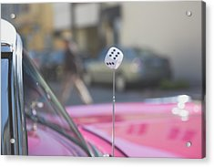 Acrylic Print featuring the photograph Roll The Dice by Lora Lee Chapman