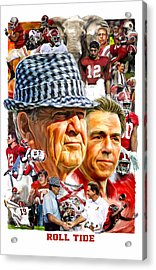 Roll Tide Acrylic Print by Mark Spears