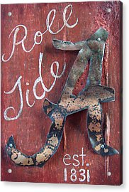 Roll Tide Acrylic Print by Racquel Morgan