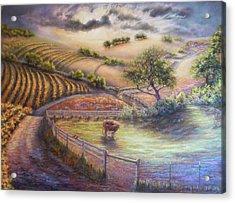 Rolling Ballard Canyon Acrylic Print