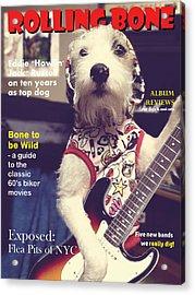 Rolling Bone Magazine Acrylic Print