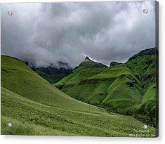 Rolling Green Drakensberg Mountains Acrylic Print