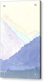 Rolling Hills Acrylic Print by Jim Green