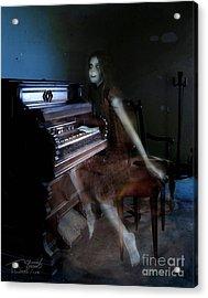 Rolling Hills Organ Acrylic Print by Tom Straub