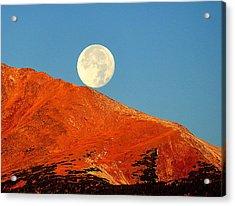 Rolling Moon Acrylic Print