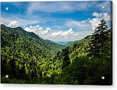 Rolling Mountains Acrylic Print
