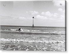 Rolling Onto The Beach Acrylic Print