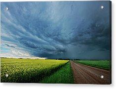 Rolling Storm Acrylic Print