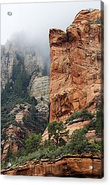 Acrylic Print featuring the photograph Rollings Mists by Phyllis Denton
