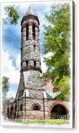 Rollins Chapel Dartmouth College Acrylic Print by Edward Fielding
