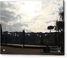 Roma, Villa Borghese Acrylic Print