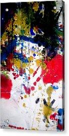 Romak Abstract Acrylic Print