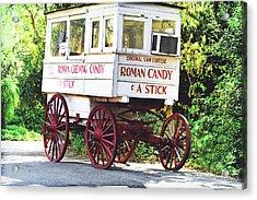 Roman Candy Acrylic Print