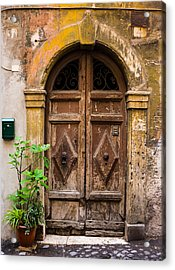 Roman Door Acrylic Print