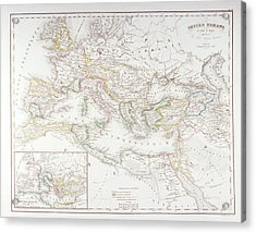 Roman Empire At The Time Of Augustus Acrylic Print by Fototeca Storica Nazionale
