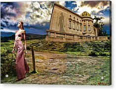 Roman Goddess Acrylic Print by Blake Richards