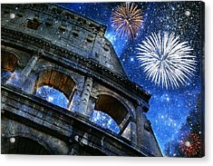 Roman Holiday Acrylic Print by Aurelio Zucco