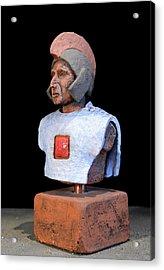 Roman Legionaire - Warrior - Ancient Rome - Roemer - Romeinen - Antichi Romani - Romains - Romarere  Acrylic Print by Urft Valley Art