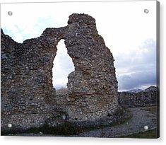 Roman Ruins Acrylic Print by Judy Kirouac