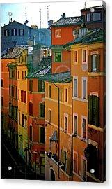 Roman Street Acrylic Print