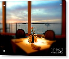 Acrylic Print featuring the photograph Romance by Elfriede Fulda