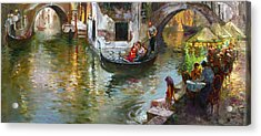 Romance In Venice 2 Acrylic Print