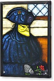 Romance In Venice Acrylic Print by Valerie Lynn