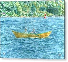 Romance On Hussey Sound Acrylic Print
