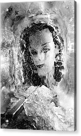 Romancing The Ice Princess Acrylic Print