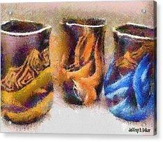 Romanian Vases Acrylic Print