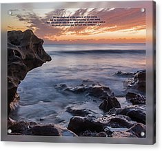 Acrylic Print featuring the photograph Romans 12 2 by Dawn Currie