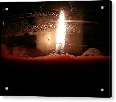 Romantic Candle Acrylic Print
