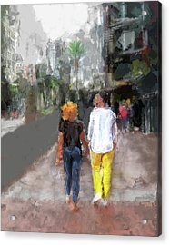 Romantic Couple Acrylic Print