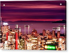 Romantic English Bay Acrylic Print