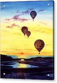Romantic Flight Acrylic Print