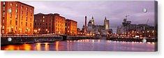 Romantic Liverpool Acrylic Print by Sydney Alvares