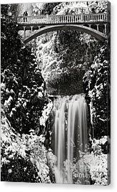 Romantic Moments At The Falls Acrylic Print