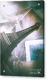 Romantic Paris Memory Acrylic Print by Jorgo Photography - Wall Art Gallery