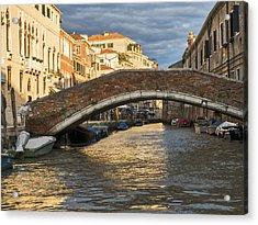 Romantic Venice Acrylic Print