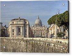 Rome - St. Peter's Basilica Acrylic Print