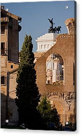Rome Layers 1 Acrylic Print by Art Ferrier