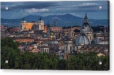 Rome Twilight Acrylic Print