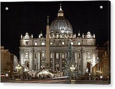 Rome Vatican Acrylic Print