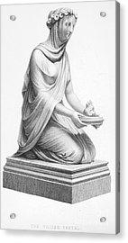 Rome: Vestal Virgin Acrylic Print by Granger
