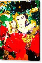 Romeo And Juliet Acrylic Print by Carmen Doreal