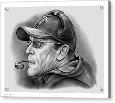 Ron Rivera Acrylic Print by Greg Joens