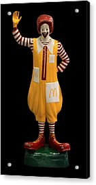 Ronald Mcdonald Acrylic Print by Andrew Fare